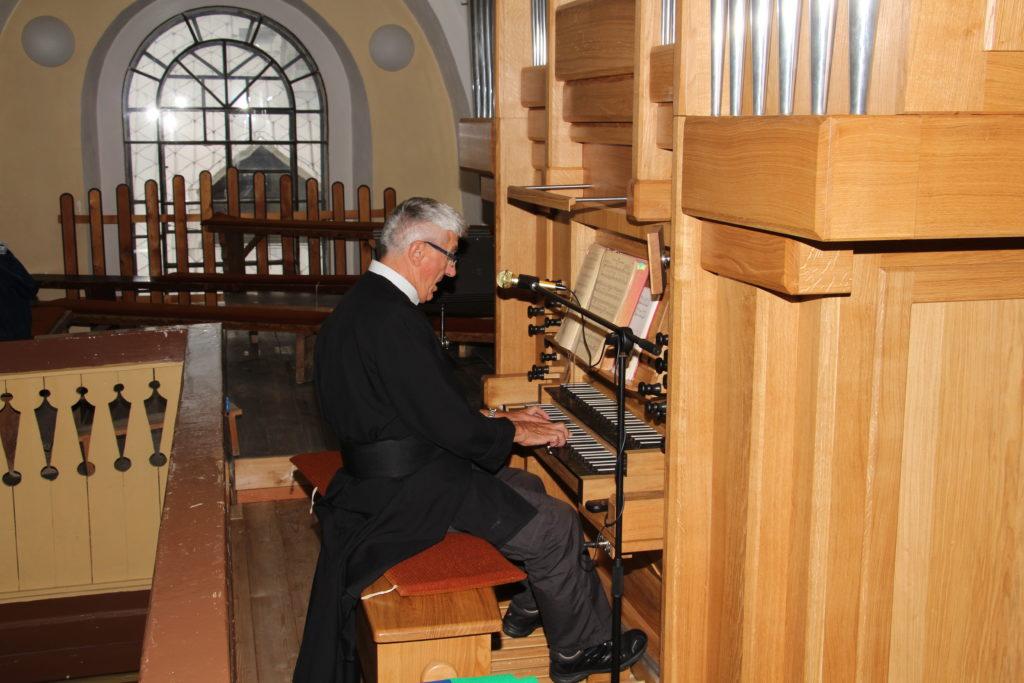 P. Martin hra na lucanskom organe