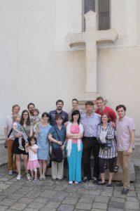 Spoločenstvo Calvary vedie chvály v Istropolise v Bratislave