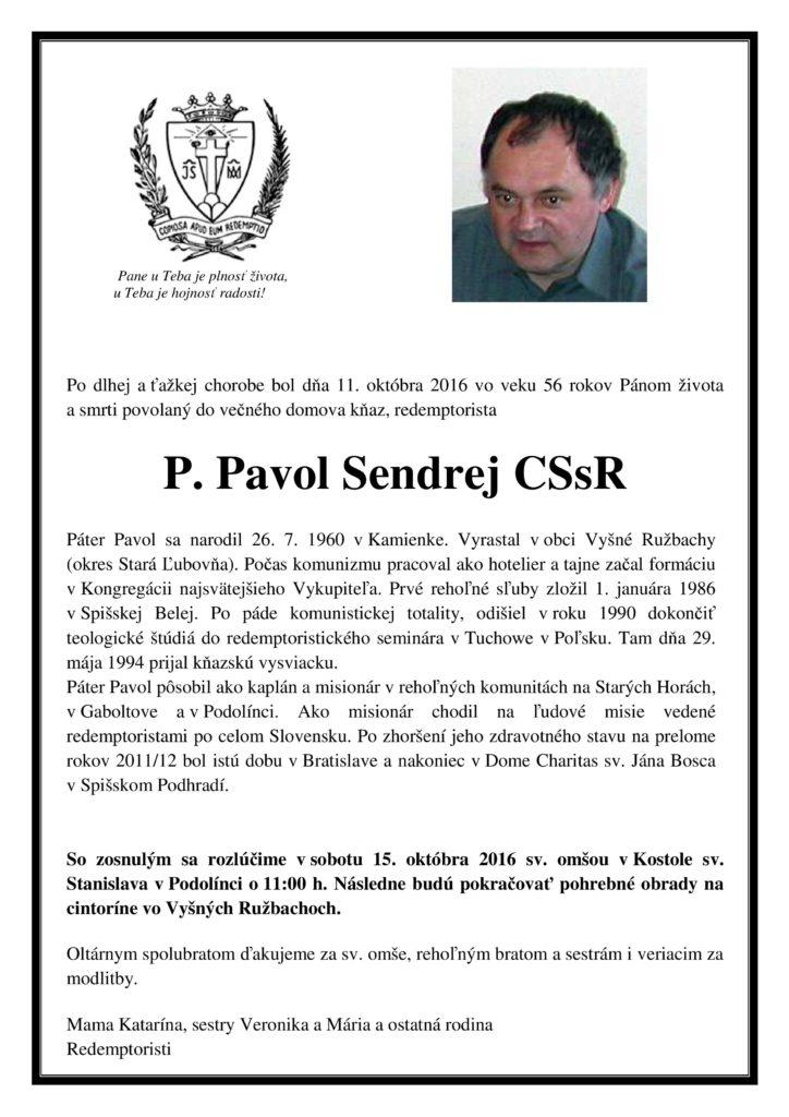 PARTE Pavol Sendrej