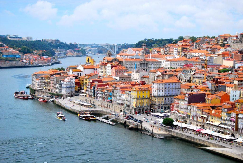 O_Porto_visto_da_Ponte_Dom_Luis_I