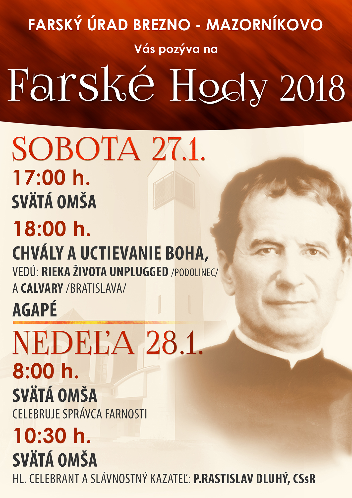 Farské Hody 2018 Brezno - Mazorníkovo