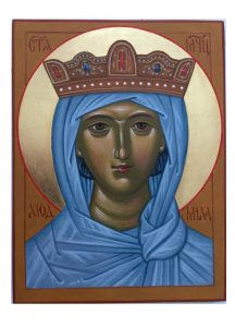 Kurz ikonopisu - Ikona svaté Ludmily