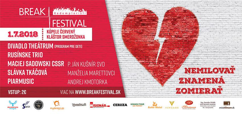 Break festival (Kúpele Červený kláštor Smerdžonka)