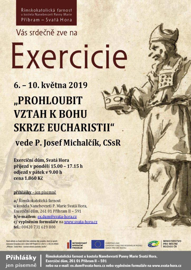 "Exercicie ""Prohloubit vztah k Bohu skrze Eucharistii"""