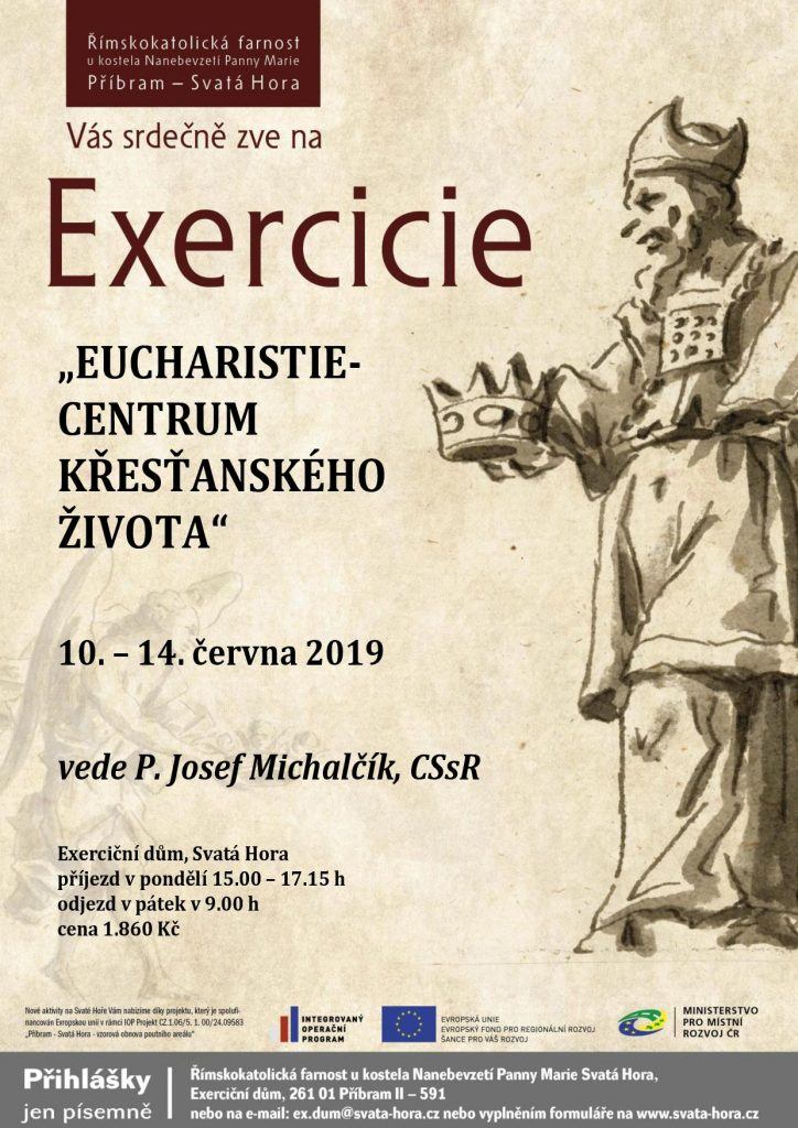 "Exercicie ""Eucharistie - centrum křesťanského života"""