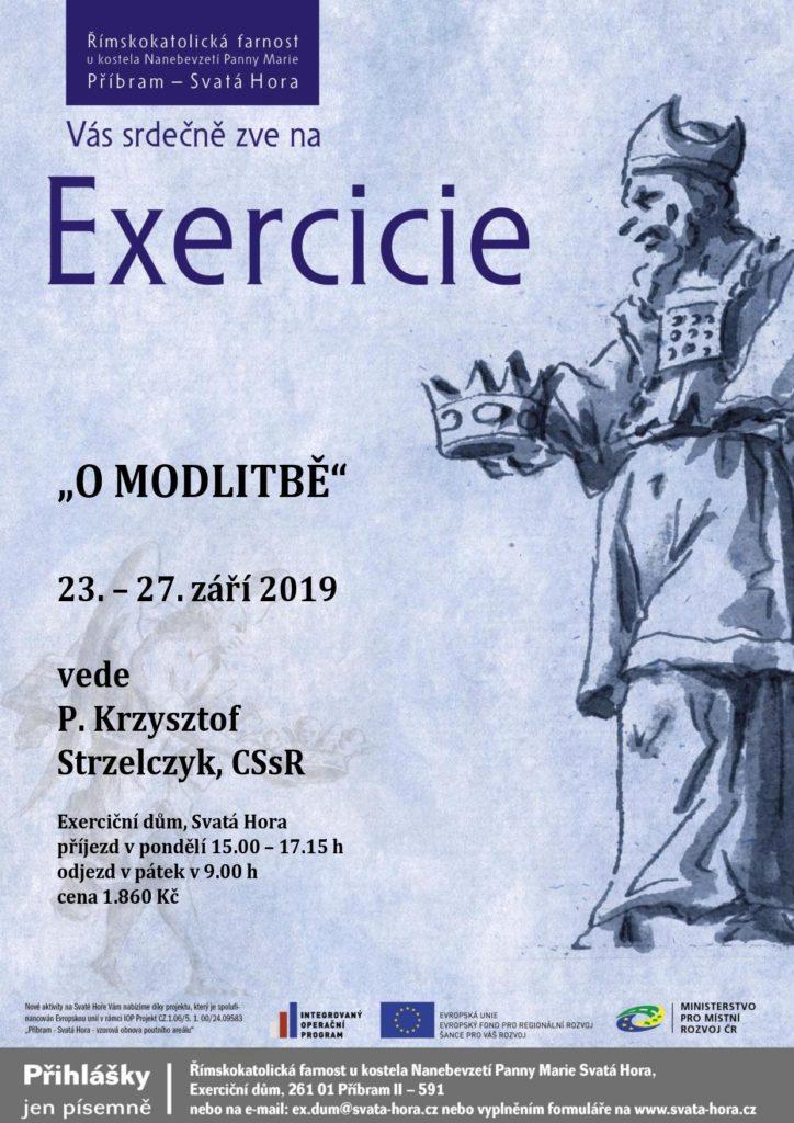 """Exercicie """"O modlitbě"""""""
