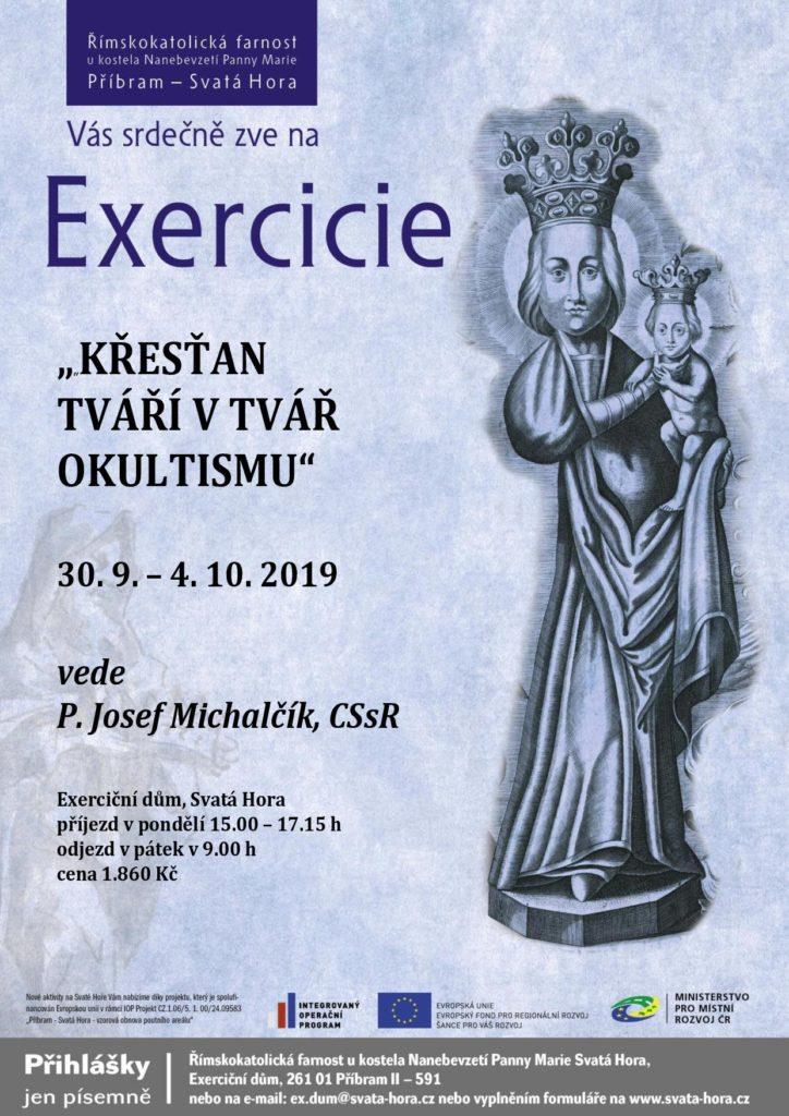 """Exercicie """"Křesťan tváří v tvář okultismu"""""""