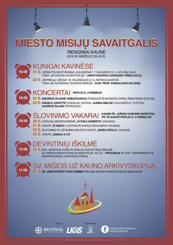 Mestské misie v Kaunase
